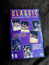Classic Confrontations Basketball NBA Larry Bird Magic Johnson VHS Video xx