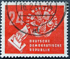 GERMANIA GDR - francobollo Yvert e Teliier n°26 obliterati - stamp (cyn4) (A)