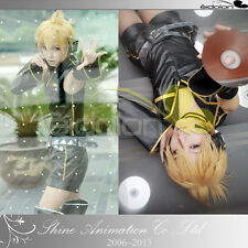 EE0030AW Vocaloid 2 Kagamine Len migikata no chou cosplay costume with Wig