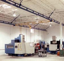 Gorbel Ceiling Mounted Workstation Crane 4,000 lb Capacity 10ft x 43ft