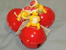"Winnie the Pooh "" Sounds of the Season Jingle Bell  "" Classic Ornaments ~ NWT"