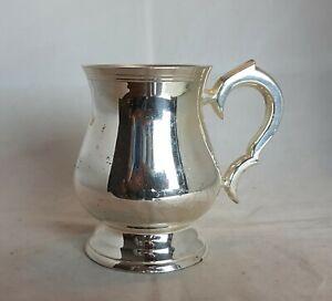 Beautiful Silver Plated Mug