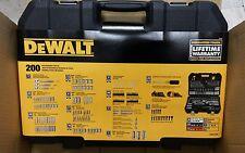 "DeWalt  ( 200 - PIECE ) MECHANICS TOLL SET  DWMT75000  "" BRAND NEW """