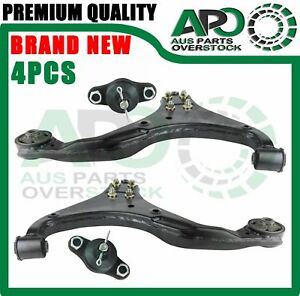 Front Lower Left Right Control Arms Ball Joints Pair For KIA Sportage KM 05-2010