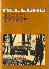 Austin Allegro Series 2 1100 & 1300 1976-79 Original Owner's Handbook AKD 8339