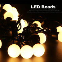 String Light Fairy Lights Bulbs Garden Wedding Xmas Decor Light Chain Waterproof