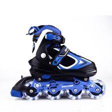 MammyGol Adjustable Inline Skates for Kids, Rollerblades Girls Boys with Light