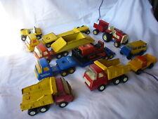 camions TONKA, bon etat de l'ensemble,no joustra,gozan,bronco,rico