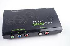 Roxio GameCap Game Capture RGB Component Video Audio RCA