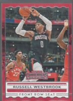 RUSSELL WESTBROOK 2019-20 Panini Contenders Front Row Seat #6 Rockets Mint