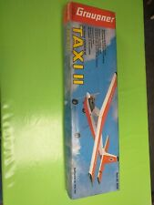 Maquette Avion Graupner Taxi 2 II Vintage wing construction kit Fly Ace RC