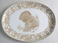 "222 Fifth BALMORAL 18 1/2"" Turkey Oval Serving Platter 10968893"
