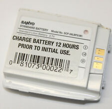 Original Oem Sanyo Scp-08Lbps-W Battery Pack Lithium-Ion 3.7 Volts for Cellphone