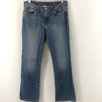 Lucky Brand Dungarees Women's Size 10/30 Reg Jeans Low Rise Flare Blue Jeans