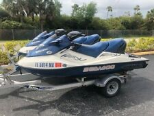 2005 SEADOO GTX 4-Tec SC 185HP Supercharged (Pair with dual trailer great cond.)