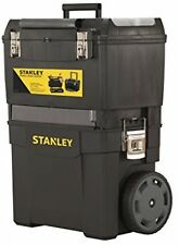 Mobile Rolling Tool Box Storage With Wheels And 2 Separate Units Stanley