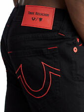 True Religion Manchester United Jack Body Rinse Black Super Skinny Jeans -102255