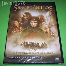 EL SEÑOR DE LOS ANILLOS LA COMUNIDAD DEL ANILLO DVD NUEVO Y PRECINTADO