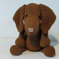 Lola the Vizsla, Amigurumi handmade soft crochet toy