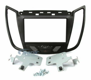 Scosche FD6203B Double DIN Dash Kit for Select 2013-Up Ford Escape & C-Max