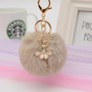 Cute Dancing Villain Women Trinket Car Bag Key Ring Jewelry Women Cute Keychain