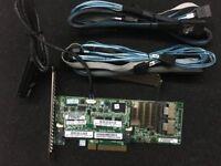 HP G8 Smart Array P420 2GB FBWC 6Gb SAS Controller + 8087 SATA Cable Battery