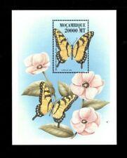 Mozambique 2000 - Butterflies - Stamp Souvenir Sheet - MNH