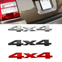 Car Body 4X4 Logo Emblem Sticker SUV Off Road Fender/Trunk Metal Chrome Badge