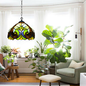 STAINED GLASS HOME DECOR ANTIQUE TIFFANY STYLE PENDANT LAMPS