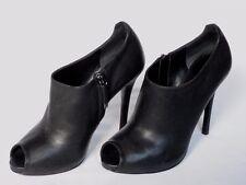 NEW RALPH LAUREN Ladies JASSIE Black Leather Shoe Boot UK 7 EU 39.5 US 9.5 £545