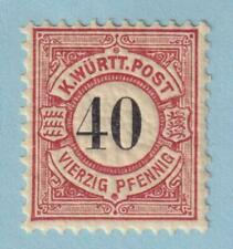 GERMAN STATES - WURTTEMBERG 65  MINT NEVER HINGED OG ** NO FAULTS  EXTRA FINE!