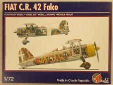 Pavla 1/72 Fiat C.R. 42 Falco Italian Biplane Model Kit 72049 NIB