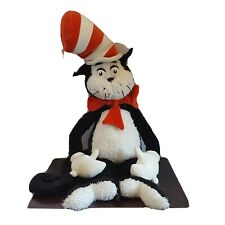 "Cat in the Hat 27"" Manhattan Toy Dr. Seuss Soft Plush Toy Large weighted"