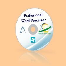 Word Processing Program Software Office for Microsoft Windows 10 2010 2013 2016