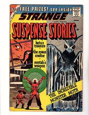 Strange Suspense Stories #45 (1960, Charlton) GD+ Steve Ditko Art