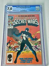 Marvel Super Heroes Secret Wars #8 (1984) CGC 7.0 VF / 1st Venom Alien Symbiote