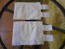 2 Fajas de yeso Reductora Plaster Corset Para Brazos 6x11 Pulgadas Small