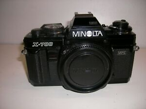 Minolta X 700 MPS  Kameragehäuse