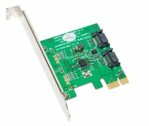 Syba SY-PEX40039 2port Pcie 6gbps Sata Iii Ctlr Controller Card (sypex40039)