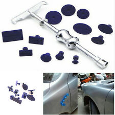 Car Body Paintless Dent Repair Tools Removal & 12 Glue Pulling Tabs Dent Repair