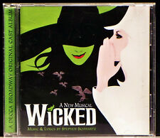 Wicked: A New Musical [Original Broadway Cast Recording] (CD, 2003 Decca)