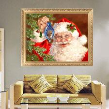5D Diamant Weihnachtsmann Kreuzstich Stickpackung Stickbild Weihnachten Home 1pc