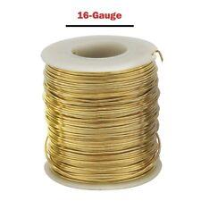 Parawire Brass Wire - 16-Gauge: 135 ft. long  - 16 Gauge:135 Ft. Spool