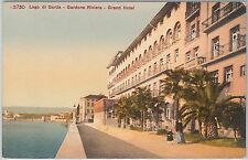 54699 -- CARTOLINA d'Epoca - LAGO di GARDA: Gardone Riviera GRAND HOTEL