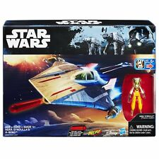 Star Wars The Rebels Hera Syndulla & A wing Star Fighter Action figure