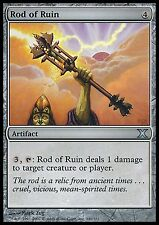 Rod of Ruin X4 FINE PLAYED 10th Edition MTG Magic Cards Artifact Uncommon