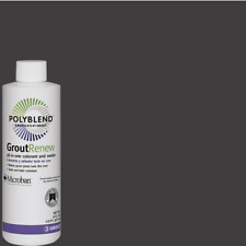 Polyblend Grout Renew CHARCOAL All-in-One Colorant & Sealer 8oz Refresh Revive