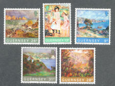 Renoir -Art Paintings set Guernsey 1983