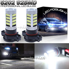 2pc 92-4014SMD 5202 LED Fog Light Bulbs For GMC Sierra 1500 07-15 Yukon XL 07-13
