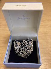 Newbridge ornate silver bracelet